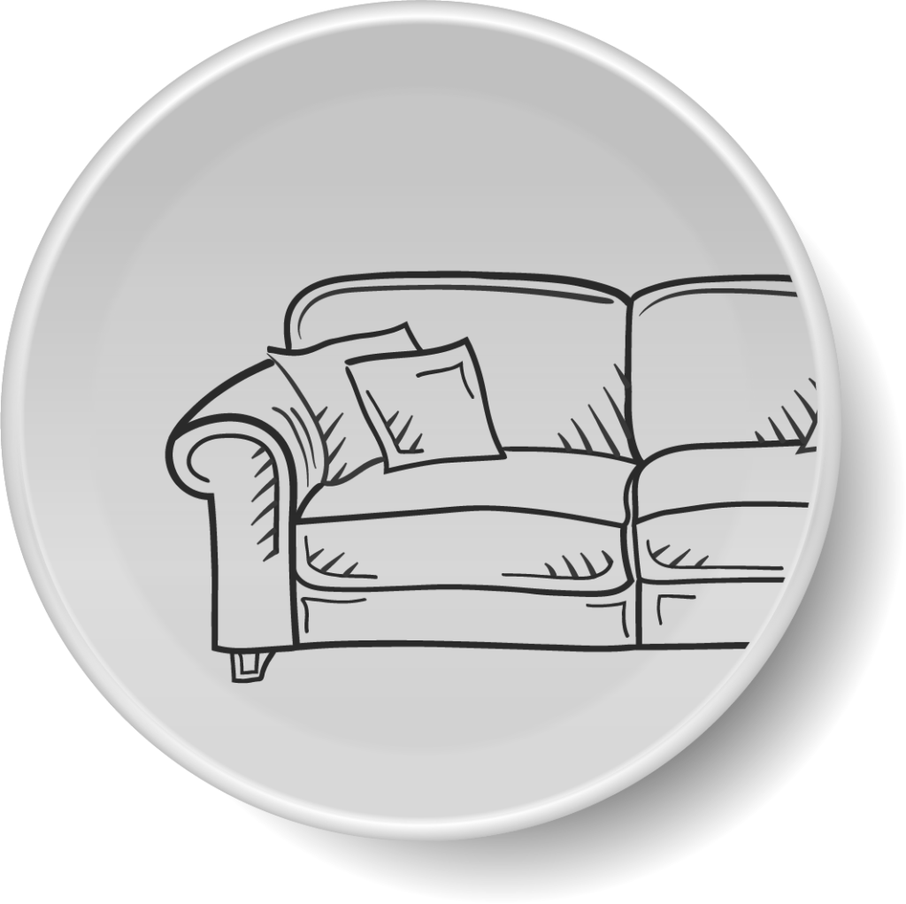 icon of a sofa