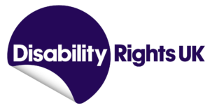logo for Disability Rights UK